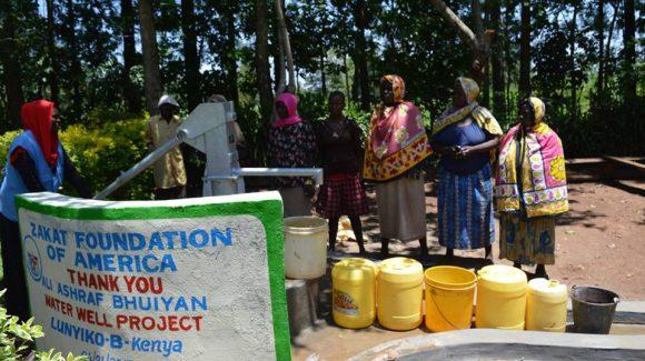ابار المياه في كينيا