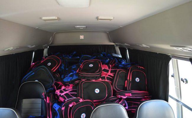 مؤسسة الزكاة توزع الحقائب المدرسية على الأطفال السوريين في الأردن