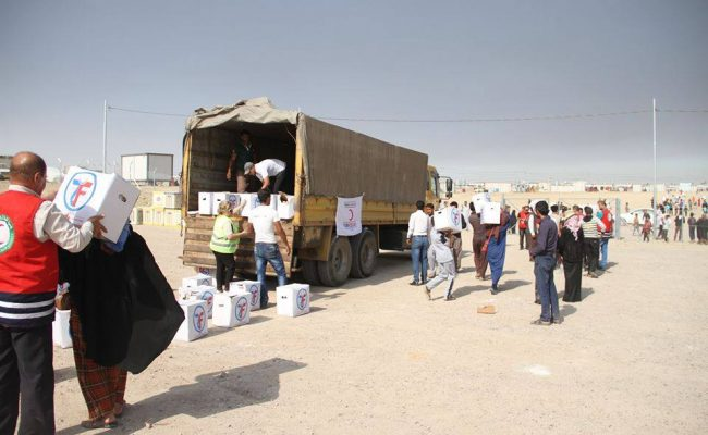 مساعدة إخواننا في العراق يبعث الطمأنينة في قلوبهم