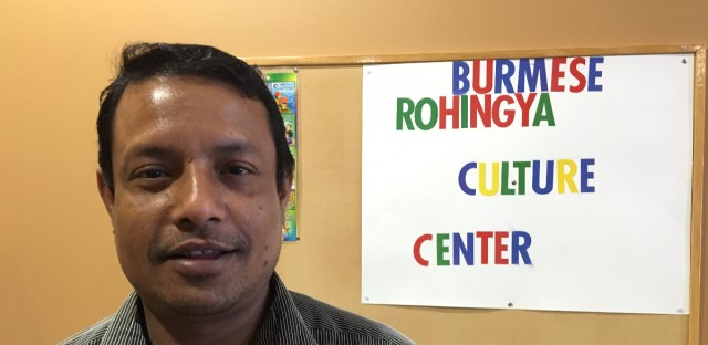 WBEZ: CHICAGO ROHINGYA ORGANIZE TO HELP THEIR OWN