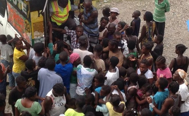 مساعدات مؤسسة الزكاة الأميركية في هايتي