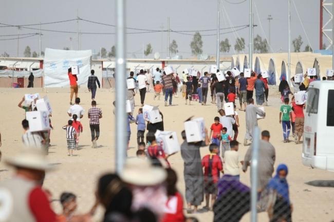 الاستجابة السريعة للاجئين في العراق