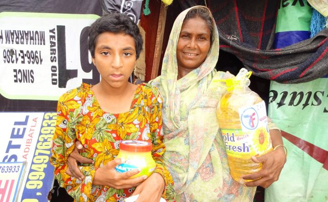 The Gratitude of a Rohingya Refugee Mother