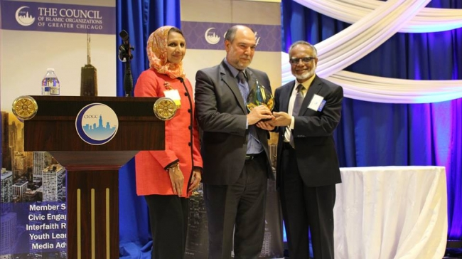السيد خليل دمير أحد أفضل المسلمين لعام 2016