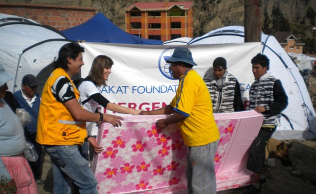 Relief for Bolivian Mudslide Victims