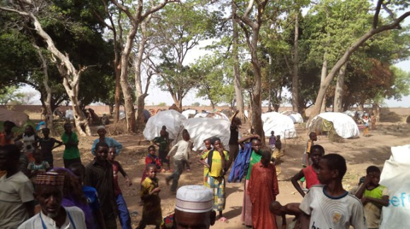 Central African Refugee Camp