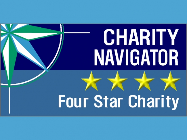 Charity Navigator Awards ZF a 4-Star Charity for Three Consecutive Years