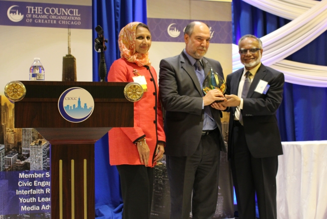 Mr. Halil Demir Recognized for Humanitarian Achievement