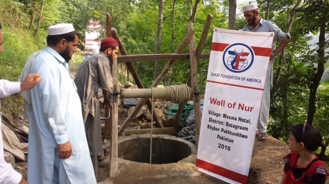 New Water Wells Installed - North Pakistan