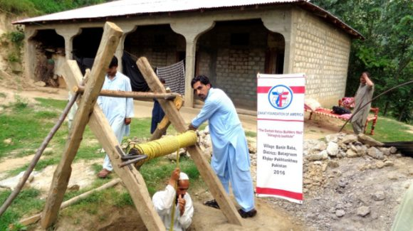 New Water Wells Installed in North Pakistan