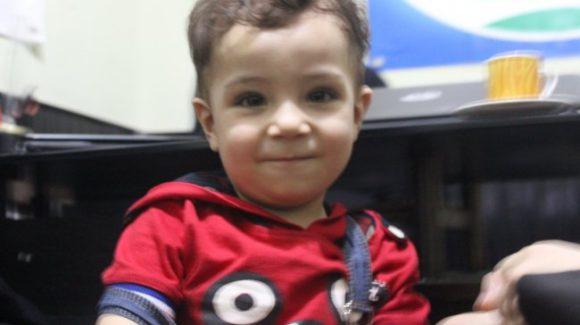 قصة طفل من حلب