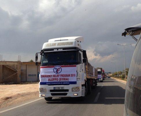 فتح ممر من الرحمة لداخل حلب