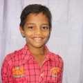الطفل الهندي مالك أحد المستفيدين من برنامج كفالة الأيتام في الزكاة