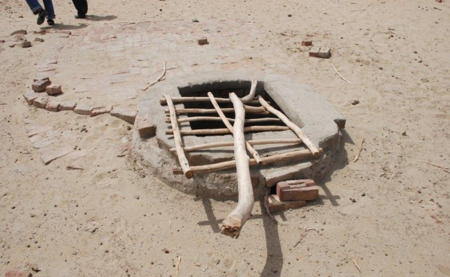 A well constructed in Thar.