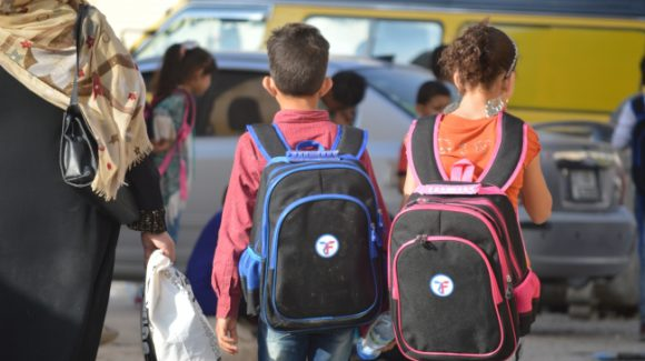 Backpack Distribution in Jordan, 2016
