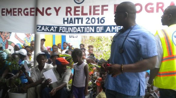 ZF Aids Haiti in Hurricane Matthew Aftermath