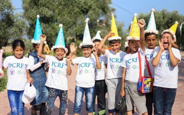 تعزيز القدرات النفسية لأطفال قطاع غزة