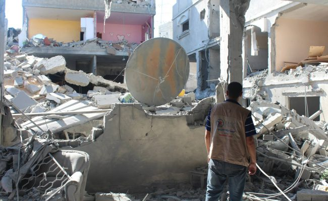 Zakat Foundation Partners with U.N. to Rebuild Gaza