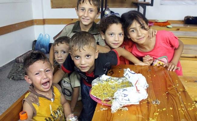 الإغاثة الطارئة في غزة 2014