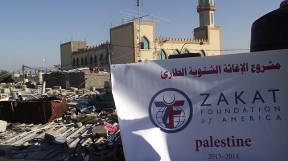 صور الإغاثة لمتضرري فيضانات غزة 2013