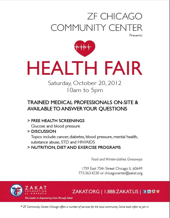 Health Fair to Promote Laughter for Stress Reduction at ZFCCC