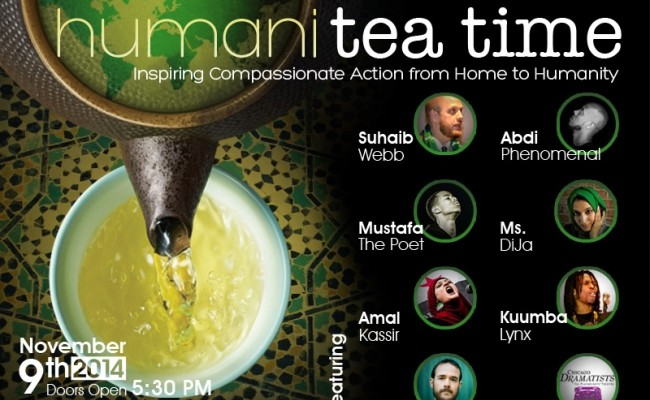 Humanitea Time 2014: Music, Poetry, Drama, Dance, Service and Chai
