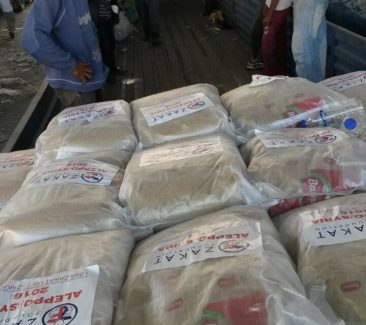 ZF Rushes Aid to Aleppo