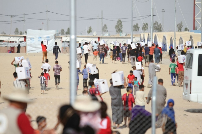 Respond Quickly to Refugees in Iraq