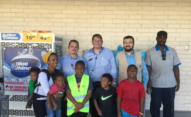 ZF Rushes Visiting Disaster Zones – Southeast U.S. with Storm Relief