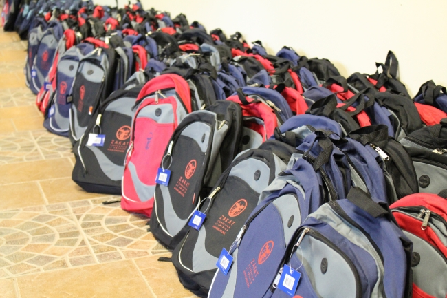 ZF Supports Local Community with Backpack Distribution