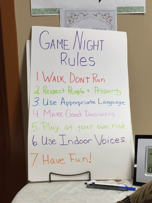 Game Night Fundraiser Exceeds Goals