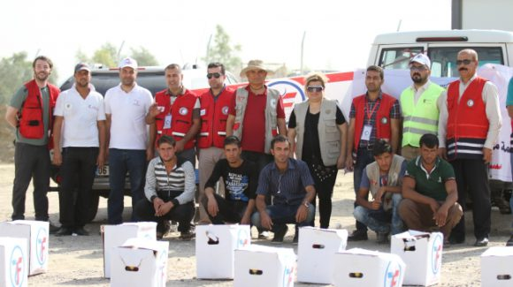 ZF Delivers Much-Needed Aid to Iraq
