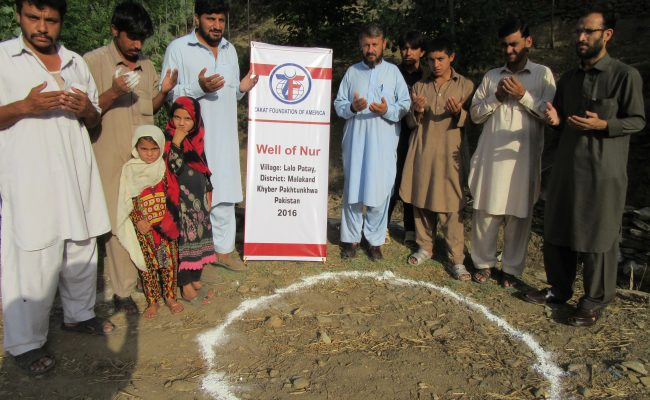 New Water Wells Installed – North Pakistan