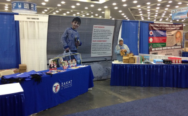 ZF booth at ICNA-MAS
