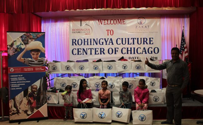 ZF Distributes Winter Kits to Rohingya Cultural Center