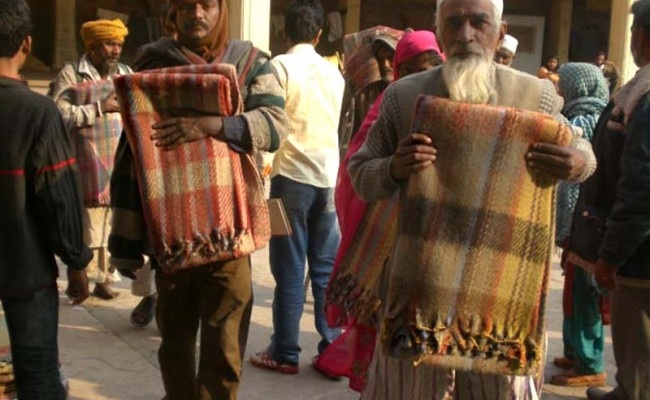 Cold Weather Relief for People in India and Kashmir