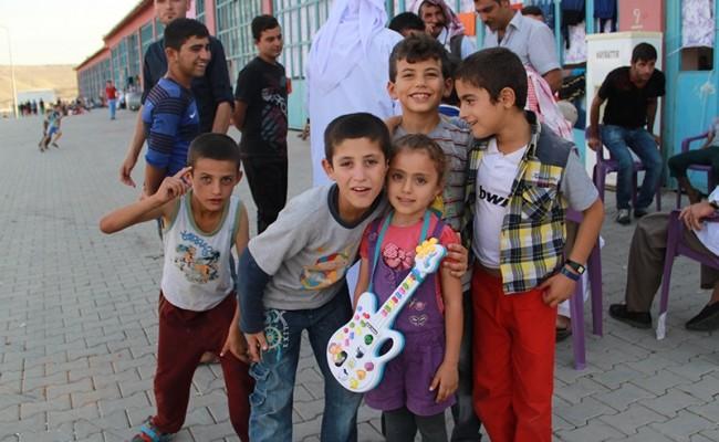 الإغاثة الطارئة في العراق 2014