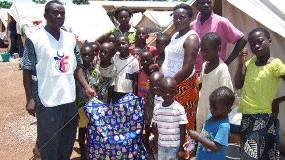 Escaping Violence: Zakat Foundation of America's Ghana Office Provides Relief to Ivory Coast Refugee
