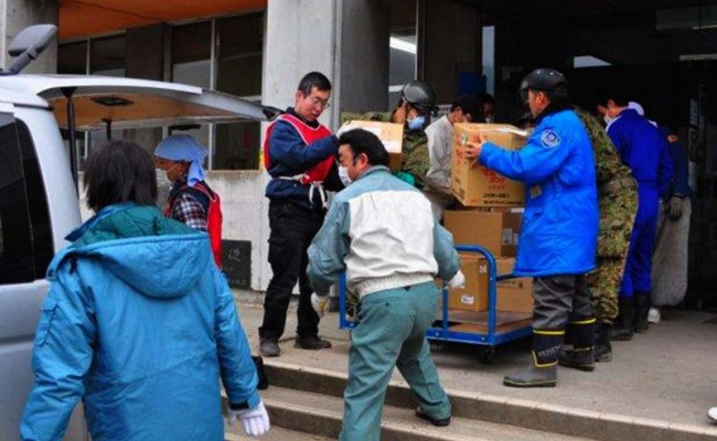 Getting Food and Supplies to Japan Earthquake/Tsunami Victims