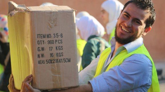 حقائب مدرسية تدخل السرور لقلوب الأطفال الأردنيين والسوريين