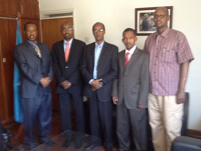 ZF Representative Meets with Somali Government in Kenya