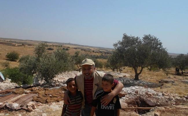 أغسطس 2013 صفاء زرزور يزور برامج الإغاثة الإنسانية في سوريا