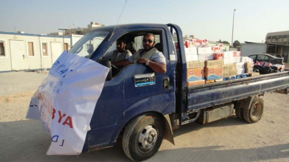 ZF's Feeds Displaced in Libya
