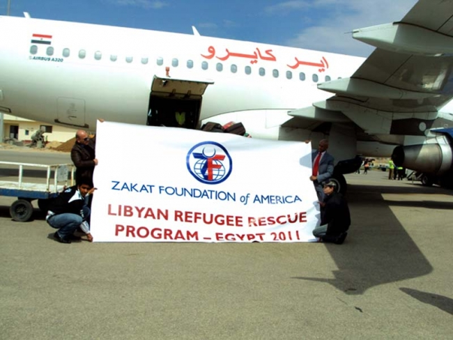 Taking Libya-Crisis Refugees Home: ZF Charters Flight for Migrant Workers from Chad