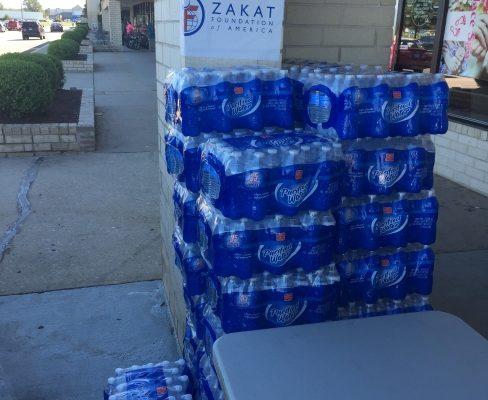 مؤسسة الزكاة تعجل في إغاثة منطقة جنوب شرق الولايات المتحدة الأميركية من الكارثة التي خلفتها العاصفة