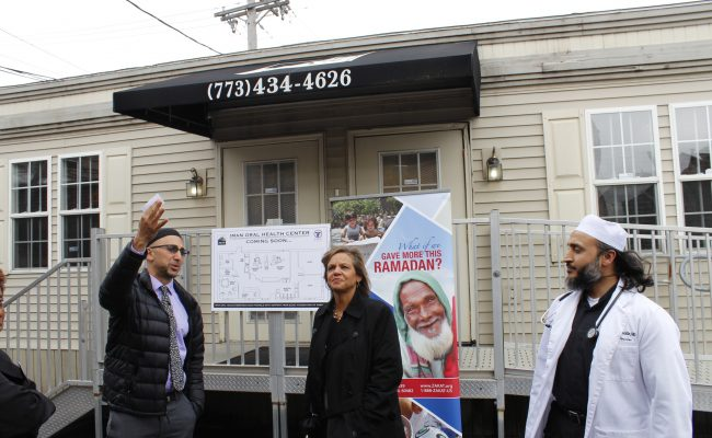 IMAN and ZF Open Chicago Oral Health Clinic