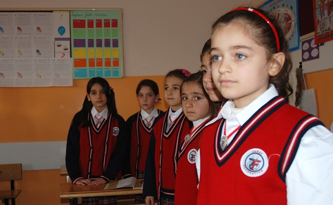 School in Turkey for Syrian Refugees