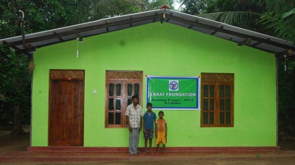 Sri Lanka Housing Project Completed