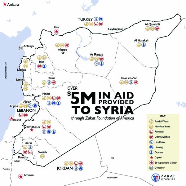 Emergency Relief in Syria: Over $5 Million in Humanitarian Aid Provided