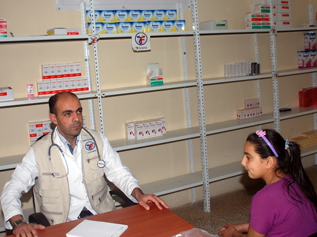 ZF Doctors Care for Syrian Refugee Girl